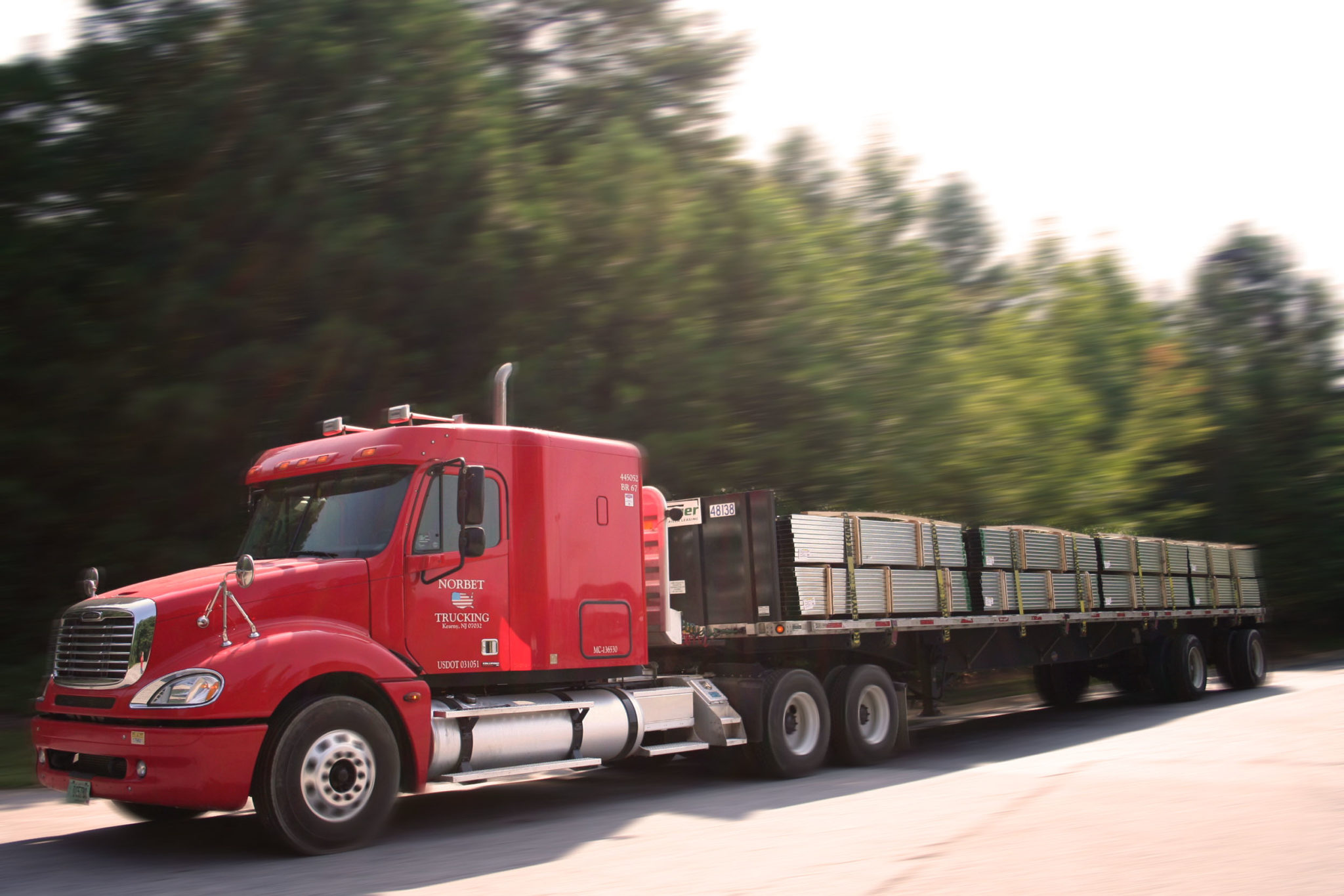 Norbet Truck delivery image