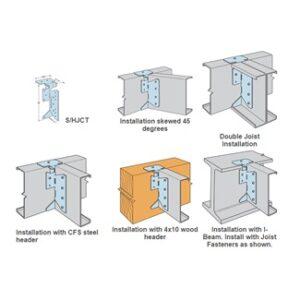 steel joist hanger product image