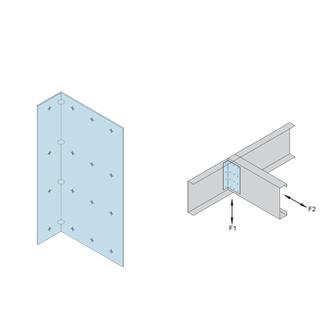 Utility Clips UA 14 Gauge, Joist Framing