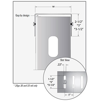 slotted b product image