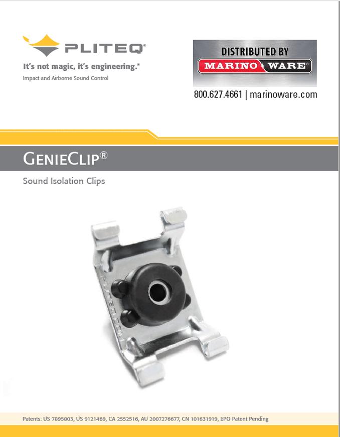 GenieClip Catalog, Steel Stud Suppliers